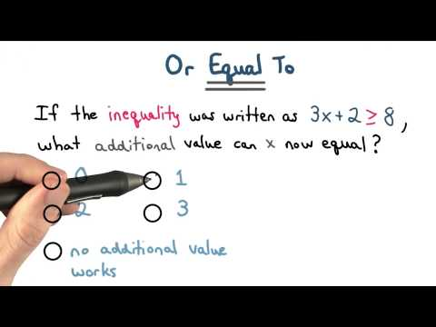 or equal to - Visualizing Algebra thumbnail