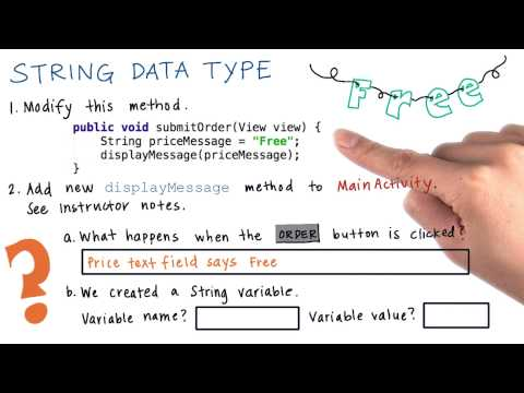String Data Type - Solution thumbnail