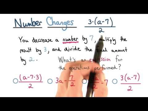 Number Changes - Visualizing Algebra thumbnail