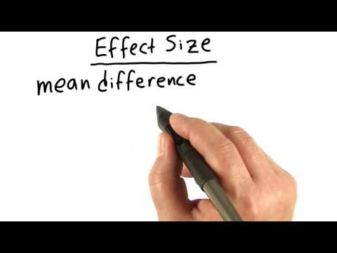 Effect Size - Intro to Inferential Statistics thumbnail