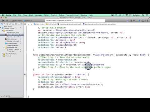 Peforming Segue from Code - Intro to iOS App Development with Swift thumbnail