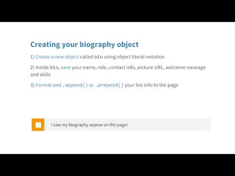 Biography Quiz - JavaScript Basics thumbnail