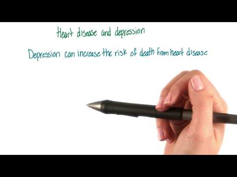 Heart disease and depression - Intro to Psychology thumbnail