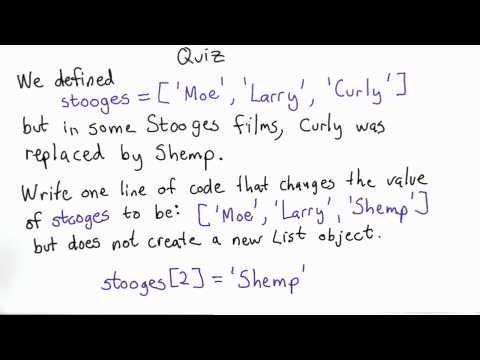 Different Stooges Solution - Intro to Computer Science thumbnail