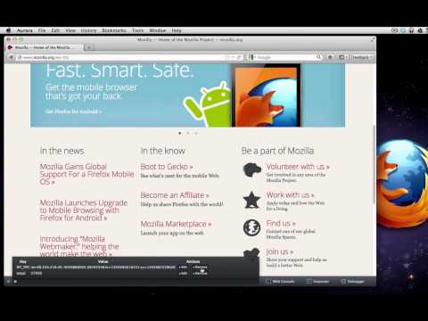 Command Line in the Firefox 16 Developer Toolbar thumbnail