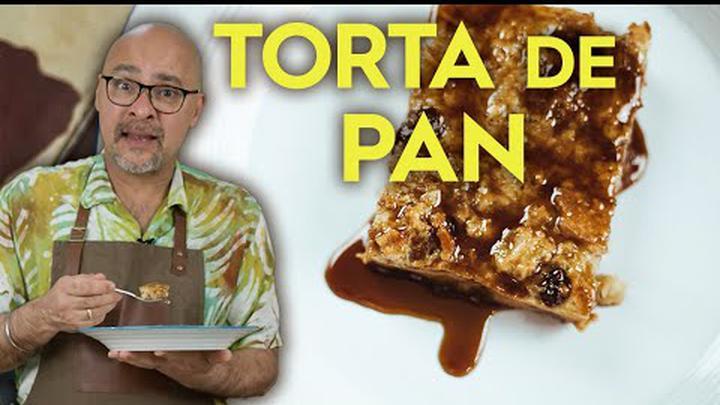 ¡Nunca volverás a botar el pan viejo! Torta de Pan l Sumito Estévez