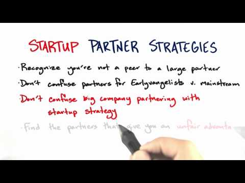 Startup Partner Strategies Summary - How to Build a Startup thumbnail