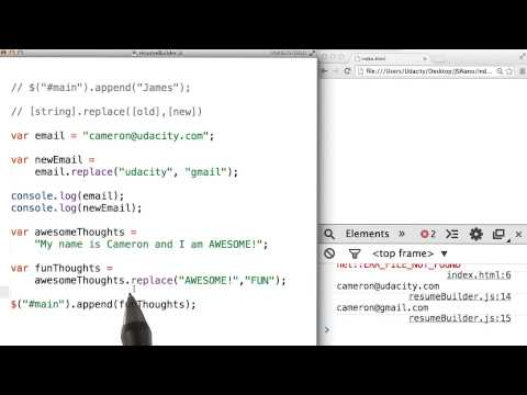 stringreplace() Solution - JavaScript Basics thumbnail