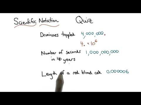 Writing Scientific Notation - Visualizing Algebra thumbnail