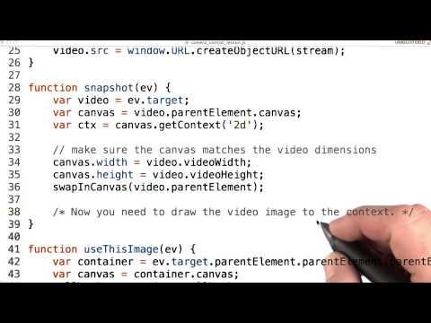Snapshot function - Mobile Web Development thumbnail
