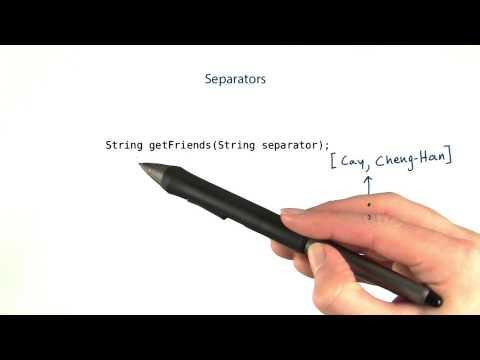 Separators - Intro to Java Programming thumbnail