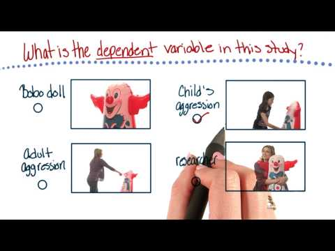 Dependent variable of this study - Intro to Psychology thumbnail