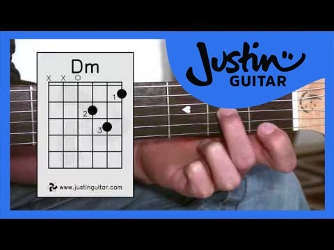 The Dmin Chord (Guitar Lesson BC-123) Guitar for beginners Stage 2  thumbnail