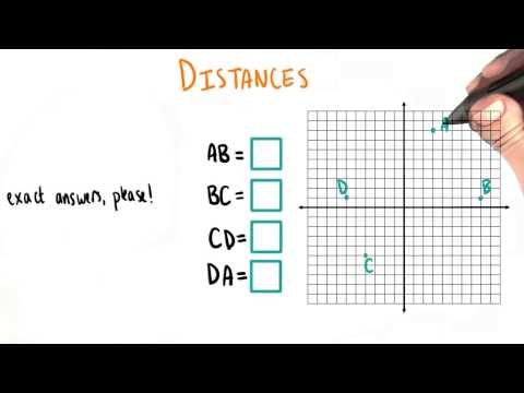 Distances - College Algebra thumbnail