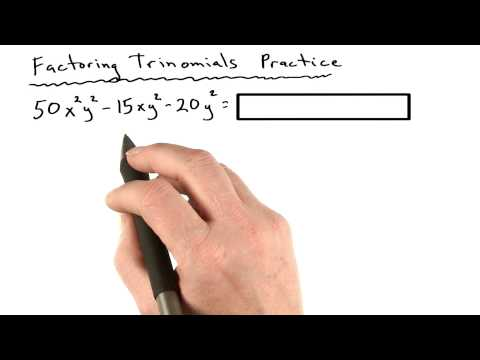 Factoring Practice 11 - Visualizing Algebra thumbnail