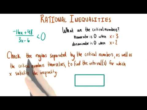Solution Intervals - College Algebra thumbnail
