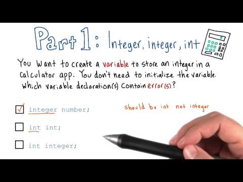 07-05 Integer, integer, int - Solution thumbnail