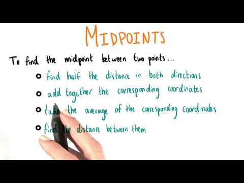 Properties of Midpoints - College Algebra thumbnail
