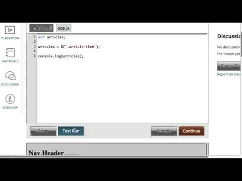 Select by Classes Solution - Intro to jQuery thumbnail