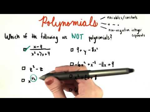 Not Polynomials - College Algebra thumbnail