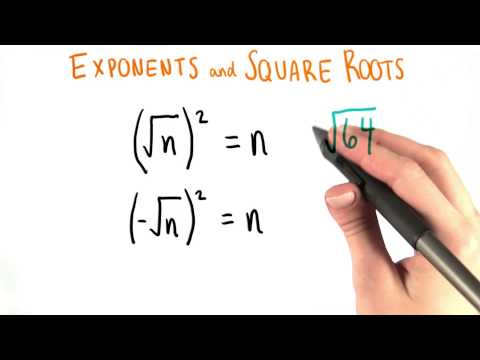 Two Square Roots - College Algebra thumbnail
