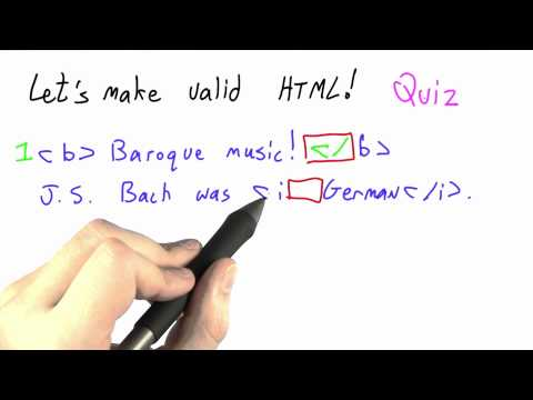03-37 Making Valid Html Solution thumbnail