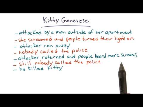 Kitty Genovese case - Intro to Psychology thumbnail