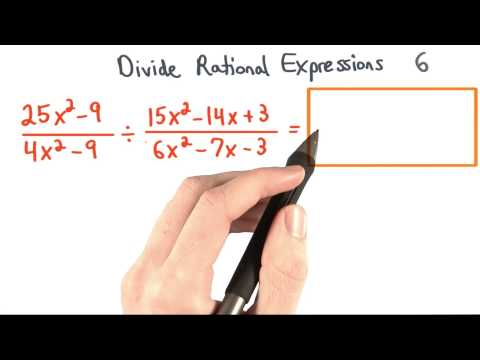 Divide Rational Expressions 6 - Visualizing Algebra thumbnail