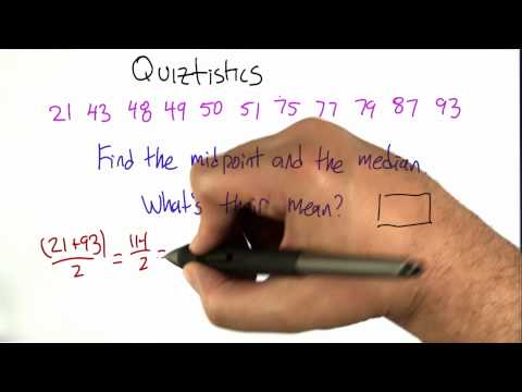 Statistics By Sorting Solution - Intro to Algorithms thumbnail