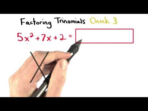 Factoring Check 3 - Visualizing Algebra thumbnail