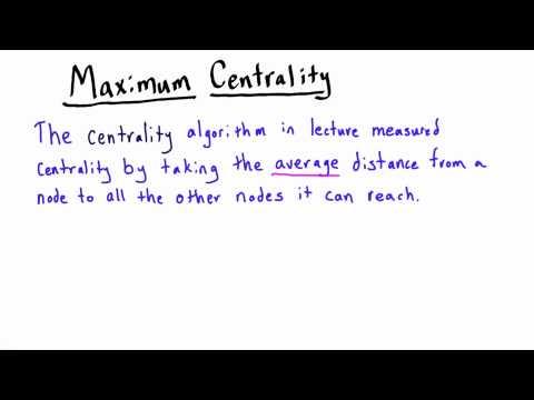 Centrality - Intro to Algorithms thumbnail