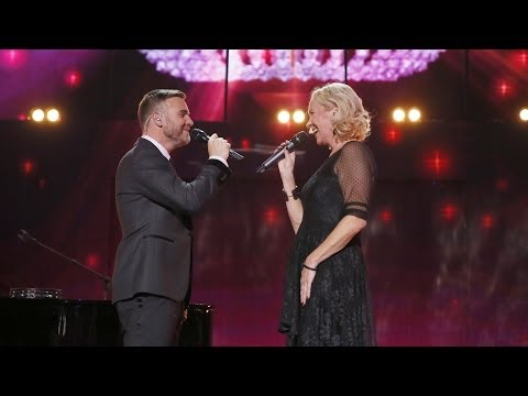Gary Barlow and Agnetha Fältskog - I Should Have Followed You Home at Children In Need Rocks 2013 thumbnail