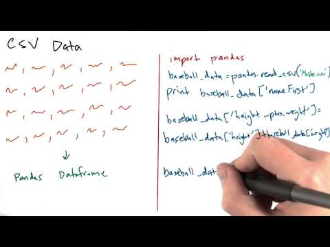 CSV Data 2 - Intro to Data Science thumbnail