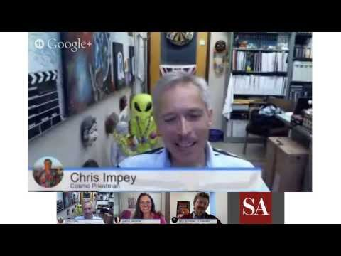 "The Mars MAVEN Mission and ""Dreams of Other Worlds"" author Chris Impey - SA Hangout #7 thumbnail"