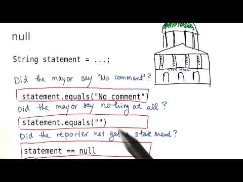 What Does Null Mean - Intro to Java Programming thumbnail
