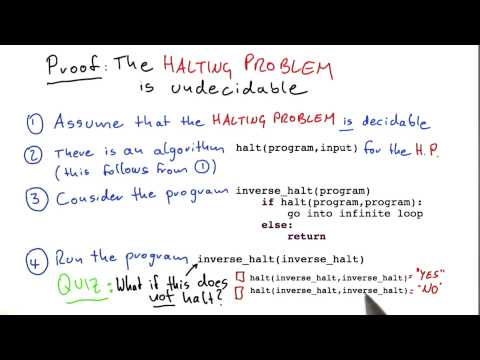 Inverse Halt Doesnt Halt - Intro to Theoretical Computer Science thumbnail