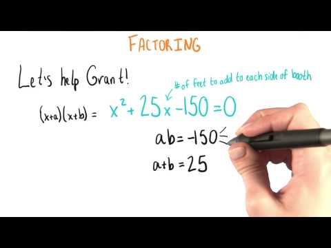 Factoring for Grant - College Algebra thumbnail