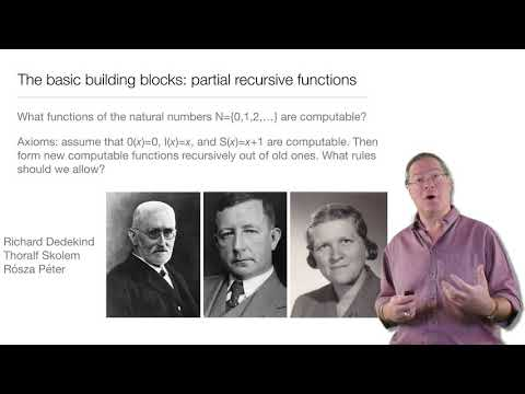 Computation in Complex Systems : Computation Everywhere : Recursive Functions Lecture & Quiz thumbnail