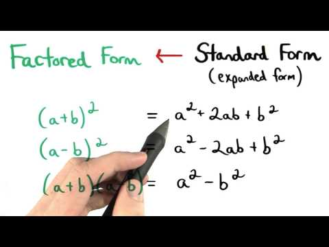 Perfect Square Trinomials - Visualizing Algebra thumbnail