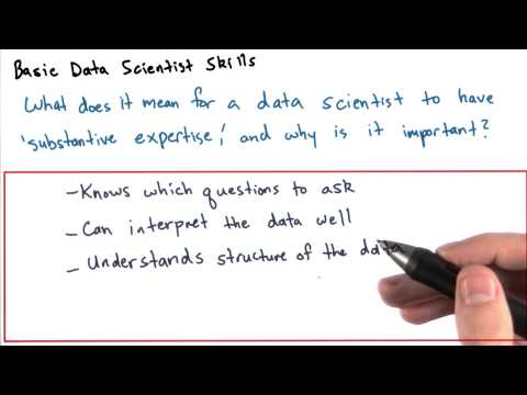 Basic Data Scientist Skills - Intro to Data Science thumbnail