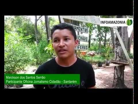 Entrevista com participante de Oficina de Jornalismo thumbnail