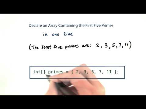 First Five Primes - Intro to Java Programming thumbnail