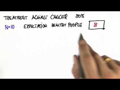 Cancer Treatment 1 Solution - Intro to Statistics thumbnail