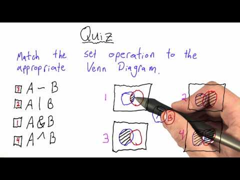 Set Theory Quiz Solution - Design of Computer Programs thumbnail