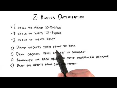 Z-Buffer Optimization - Interactive 3D Graphics thumbnail
