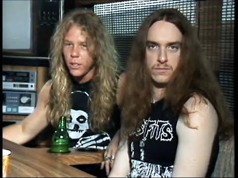 Metallica - Cliff Burton and James Hetfield final uncut interview - 1986 thumbnail
