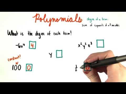 Identifying Degree - College Algebra thumbnail