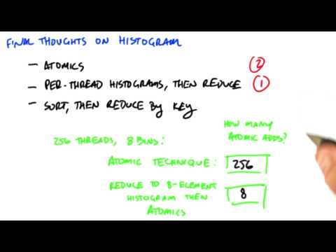 Final Thoughts on Histogram - Intro to Parallel Programming thumbnail