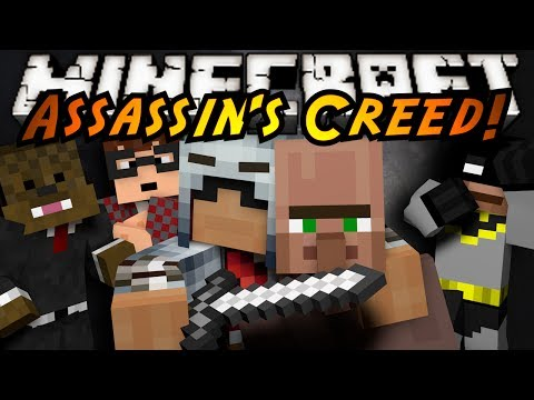 Minecraft Mini-Game : ASSASSIN'S CREED! thumbnail