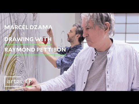 "Marcel Dzama: Drawing with Raymond Pettibon | Art21 ""Extended Play"" thumbnail"
